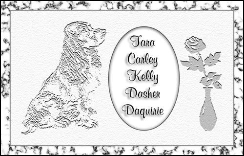 Bonnie's Cocker Spaniel Memorial